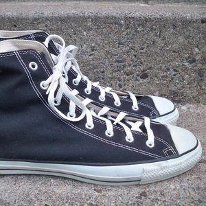 Vintage CONVERSE Chucks All Star Black Sneakers 14